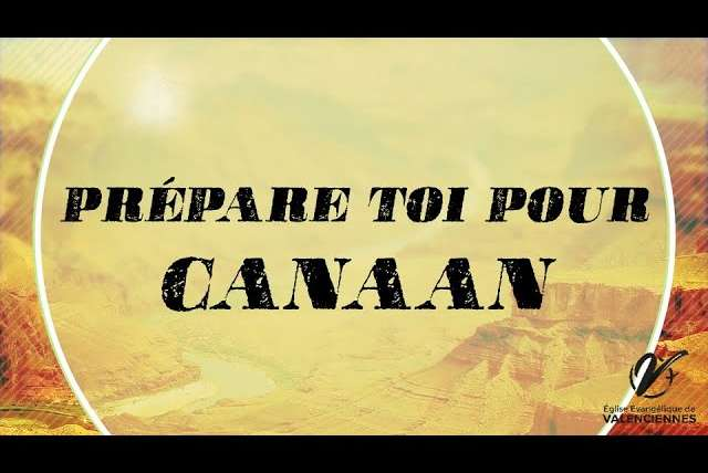 PREPARE-TOI POUR CANAAN